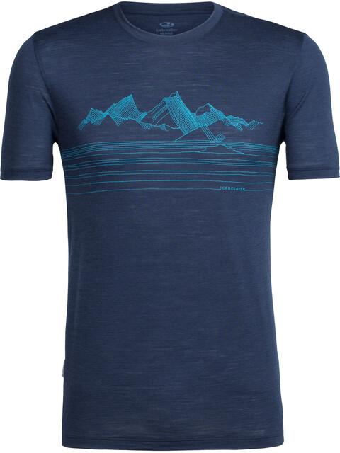 Icebreaker Spector Approach - T-shirt manches courtes Homme - bleu